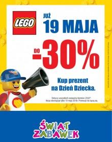 ŚWIAT ZABAWEK  LEGO do – 30%!