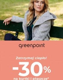 GREENPOINT -30% na kurtki i płaszcze!