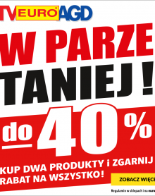 RTV EURO AGD 40% rabatu!