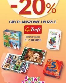 ŚWIAT ZABAWEK gry i puzzle – 20%