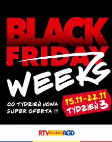RTV EURO AGD  Black Friday Weeks 3