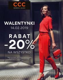 CCC PROMOCJA WALENTYNKOWA -20%