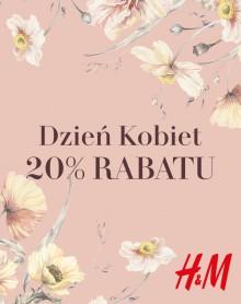 20% rabatu od H&M na Dzień Kobiet
