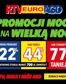 RTV Euro AGD Duże i małe AGD oraz wybrane RTV nawet do 77% taniej