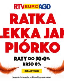 RTV EURO AGD – RATKA LEKKA JAK PIÓRKO