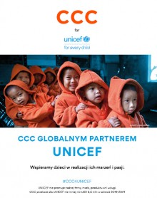 CCC wspiera UNICEF