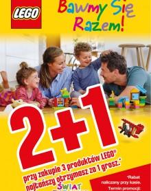 ŚWIAT ZABAWEK – 2+1 Promocja Lego