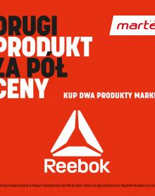 Martes Sport -50% na drugi produkt