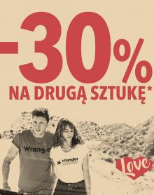 Walentynkowa promocja WRANGLER