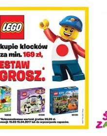 Zestaw LEGO za 1 GROSZ w ŚWIECIE ZABAWEK